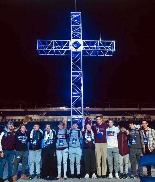 Salesians at Cross