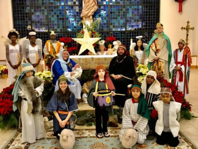 Salesian News: Live Nativity At St. Benedicts