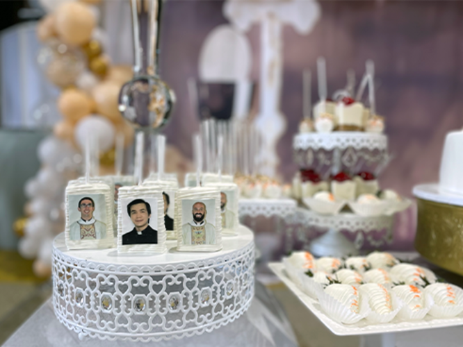 Dessert Table for Ordinations
