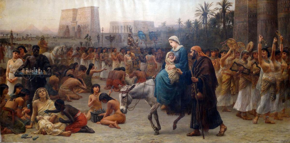 The Flight Into Egypt, 1883
