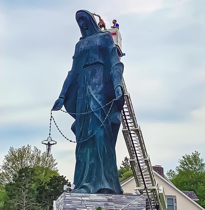 Marian Shrine Crowning 2021