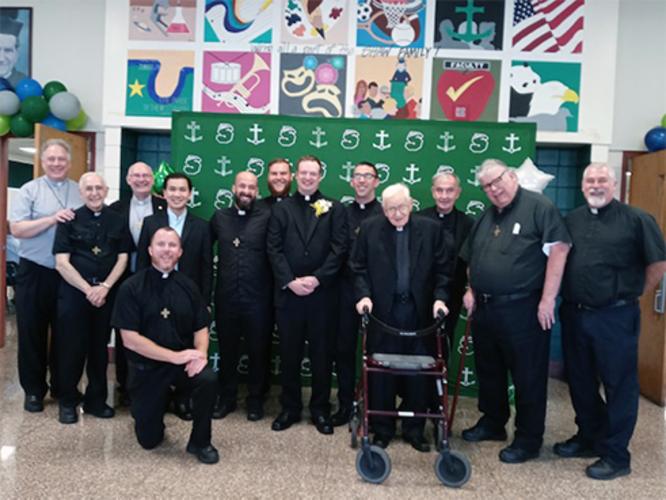 SDBs at Fr. Craigs Ordination