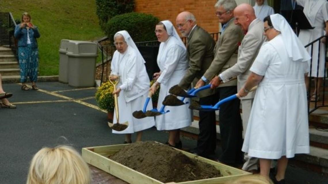 Salesians breaking ground