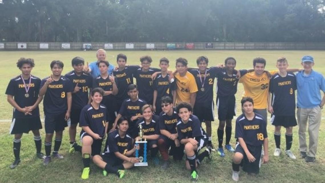 CRT boys soccer