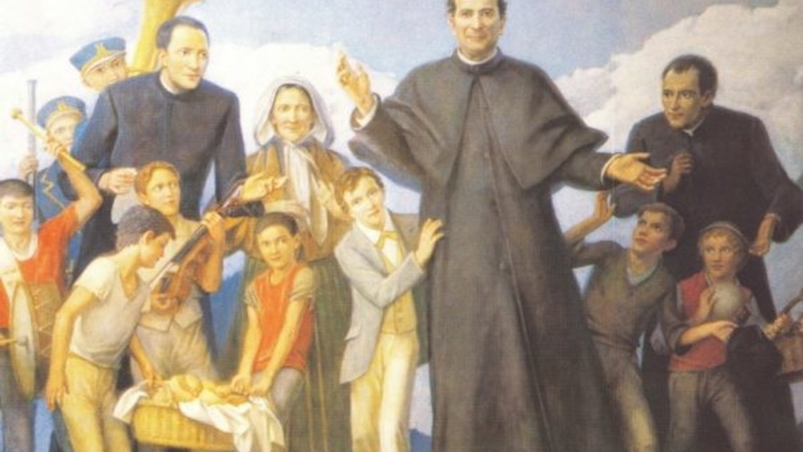 Don Bosco with People