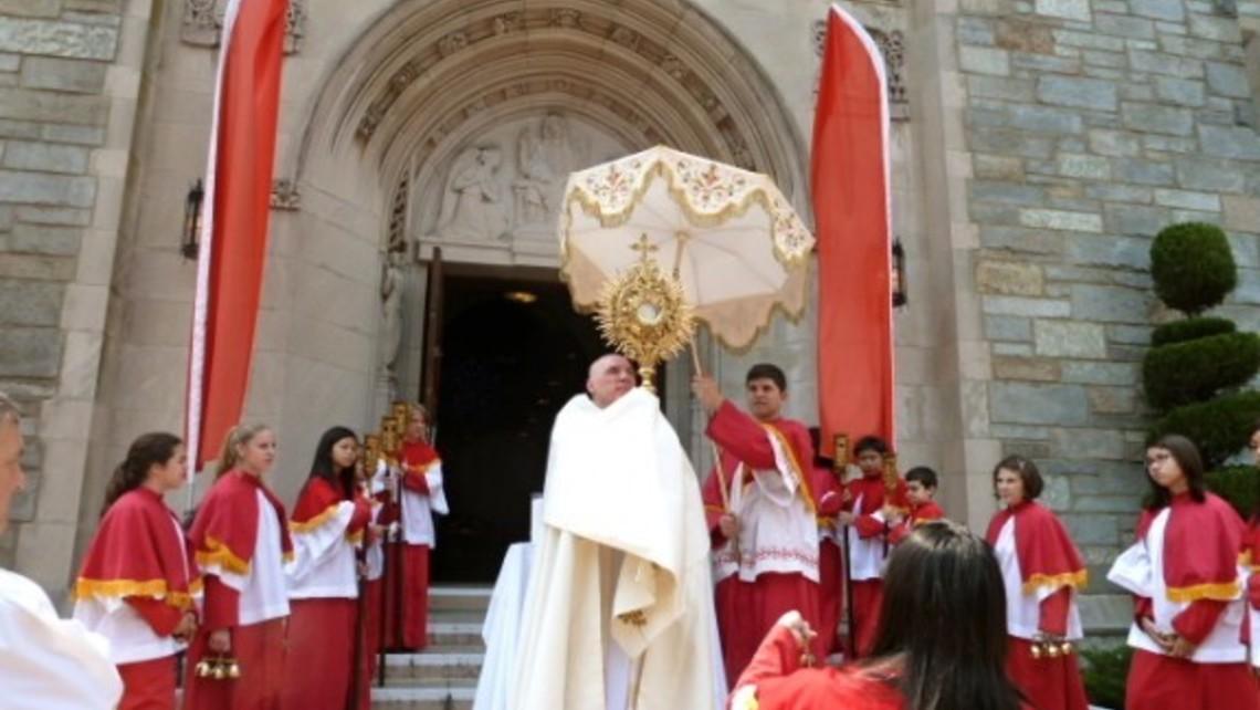 Eucharistic Procession