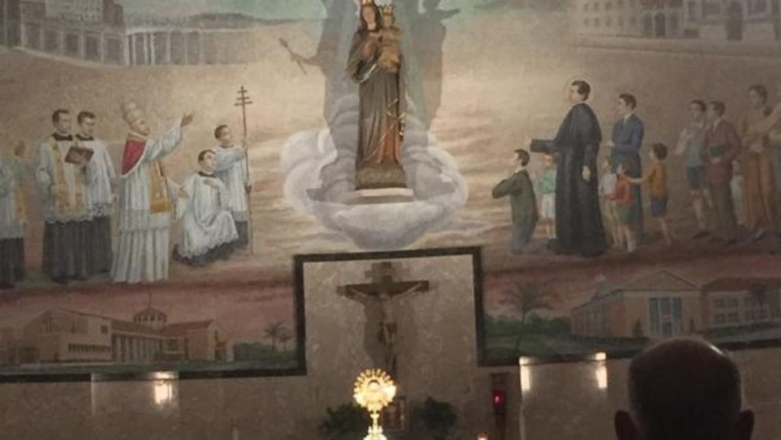 Eucharistic Adoration in Chapel