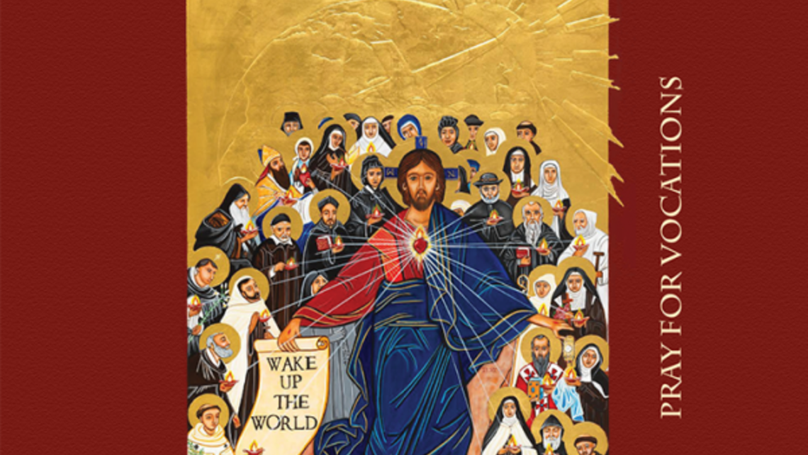 vocation prayer card