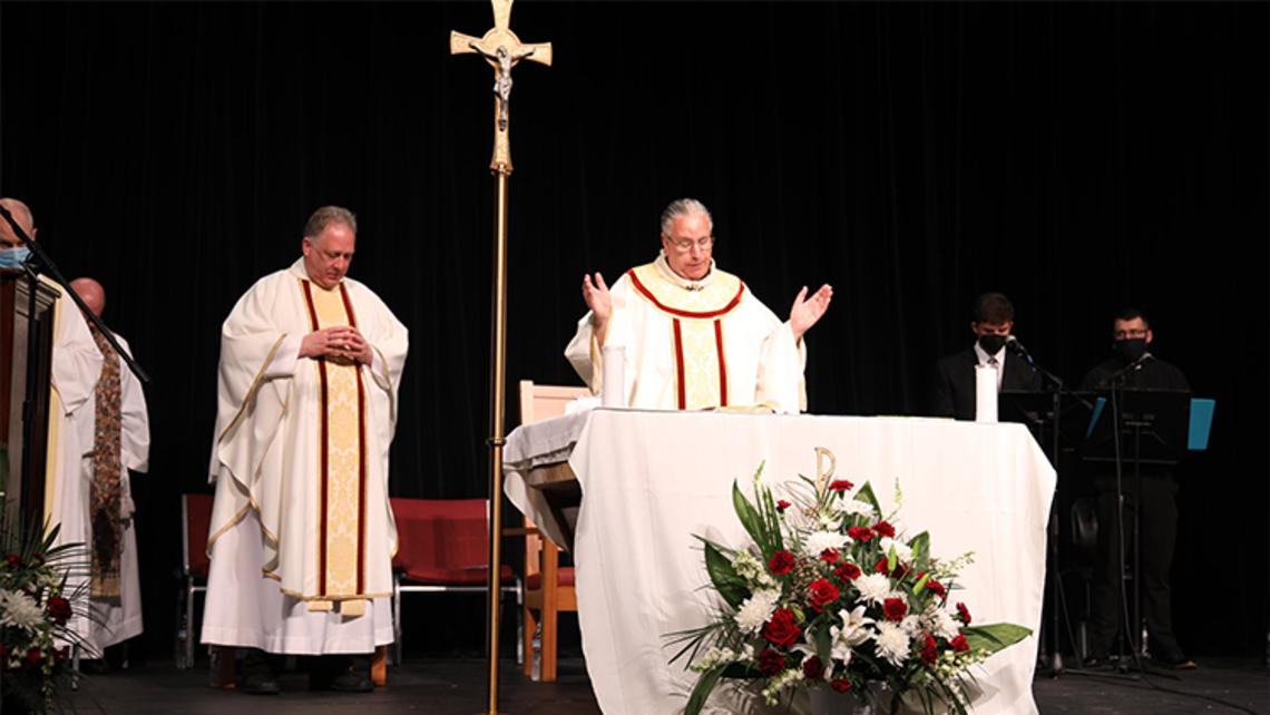 DBP Honors Fr. Jim Heuser, SDB