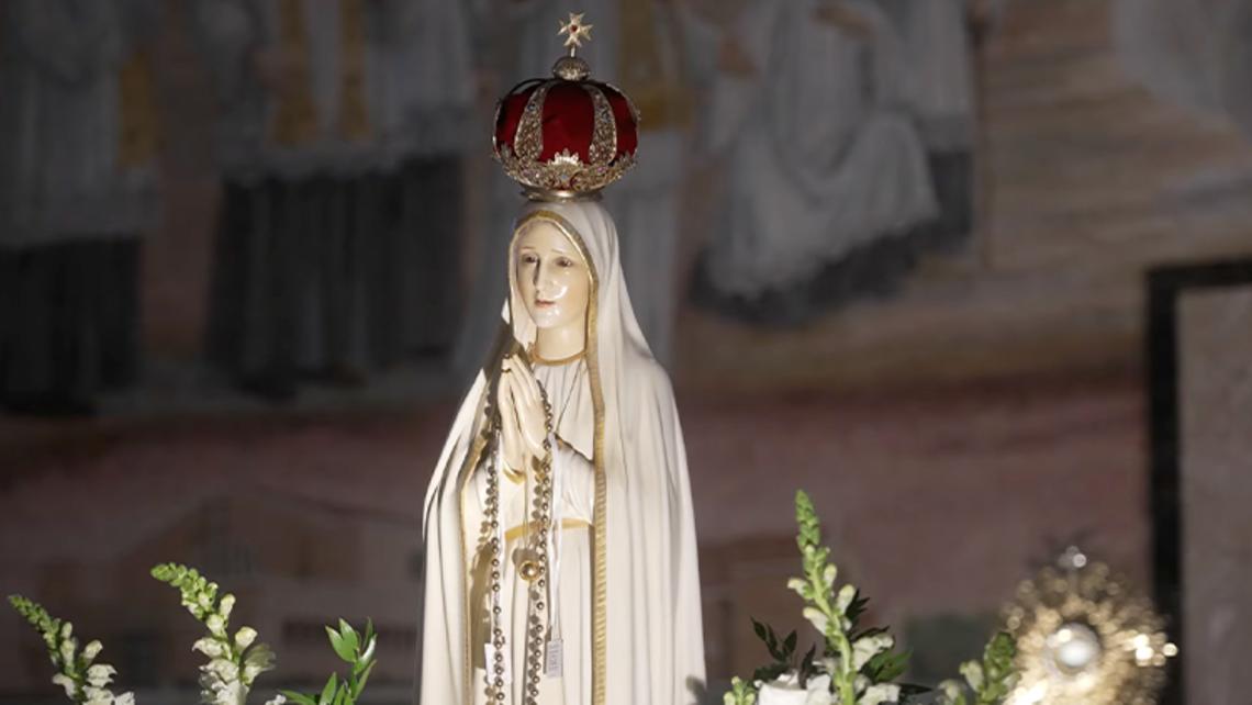 Fatima Statue Comes to Tampa