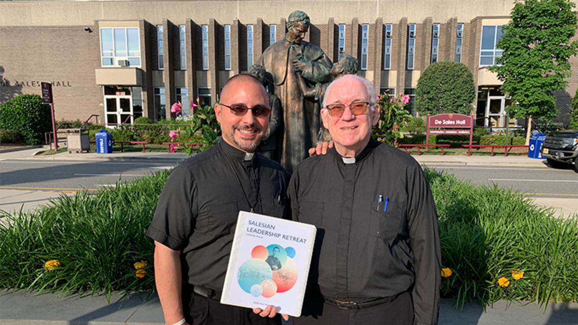 Fr. Abe and Fr. Tom Dunne