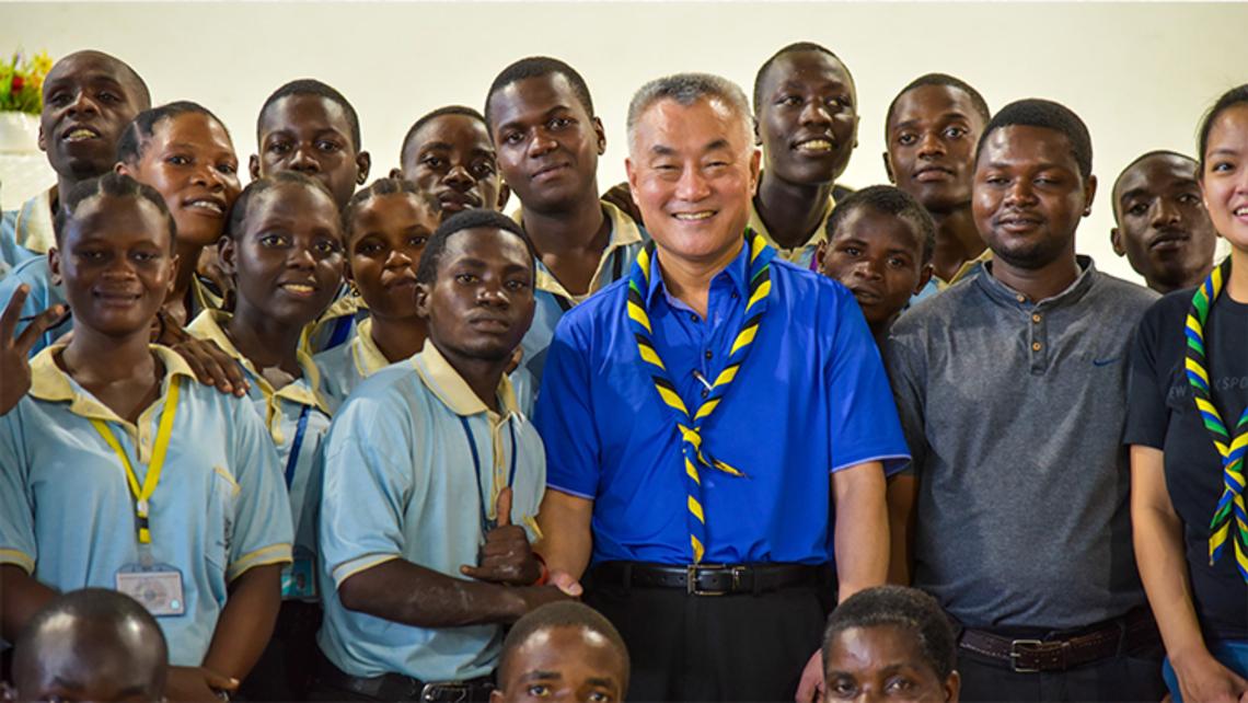 Fr. Gus in Africa