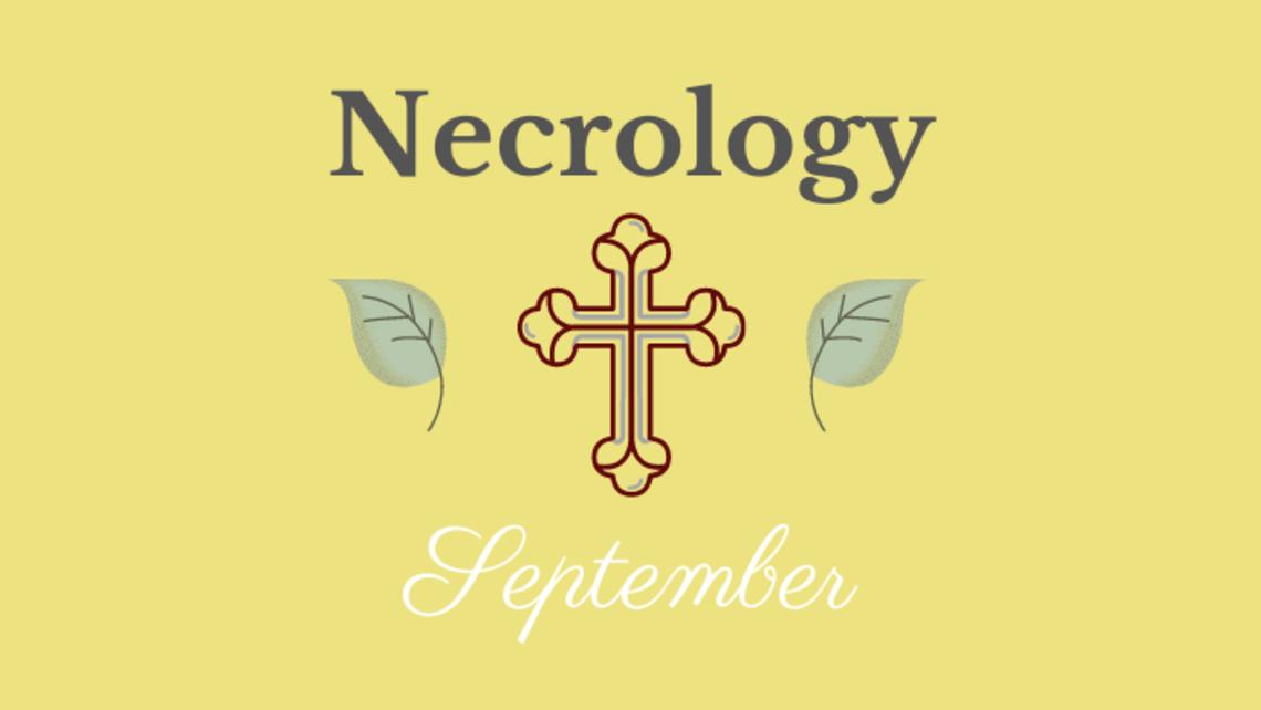 September 2020 Necrology
