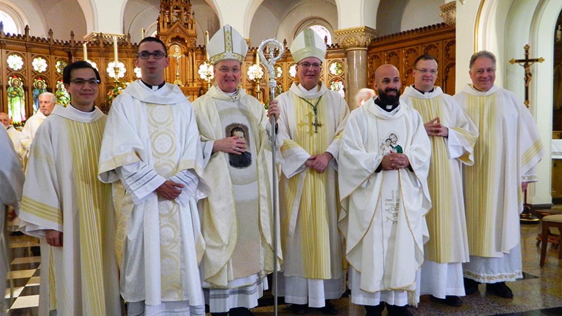 Three Salesians Ordanied