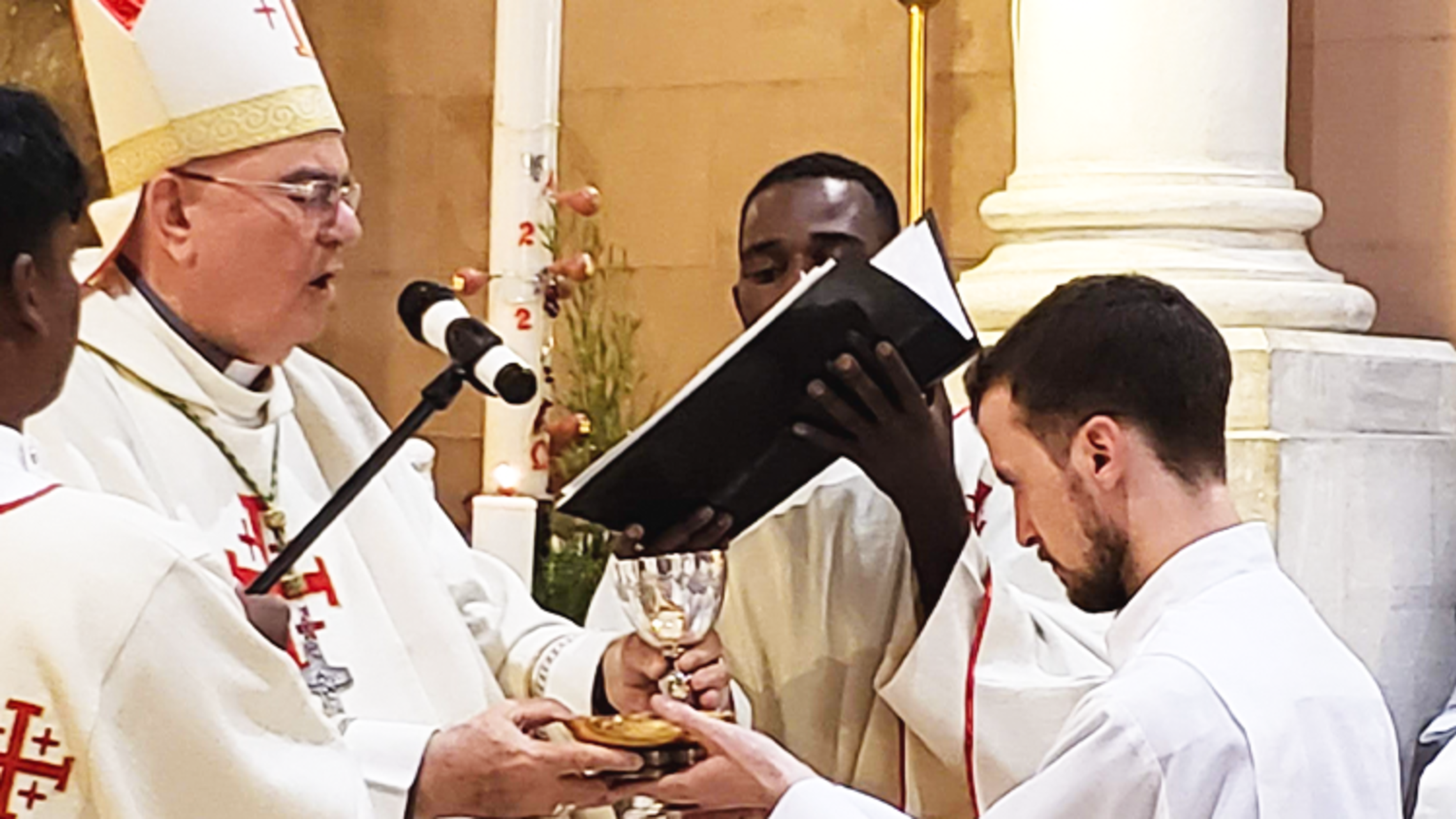 Br. Joshua Sciullo Receives Ministry of Acolyte