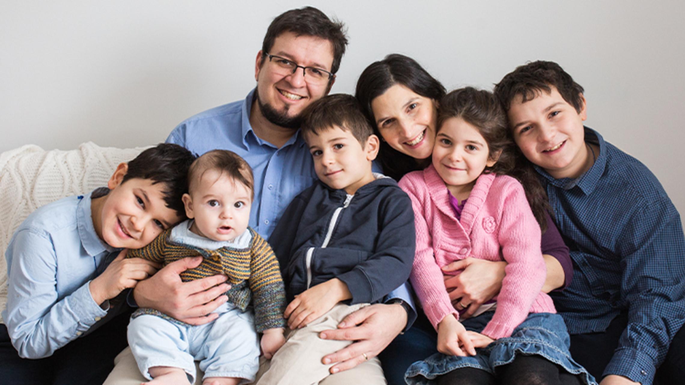 Stephane Bürgi and family