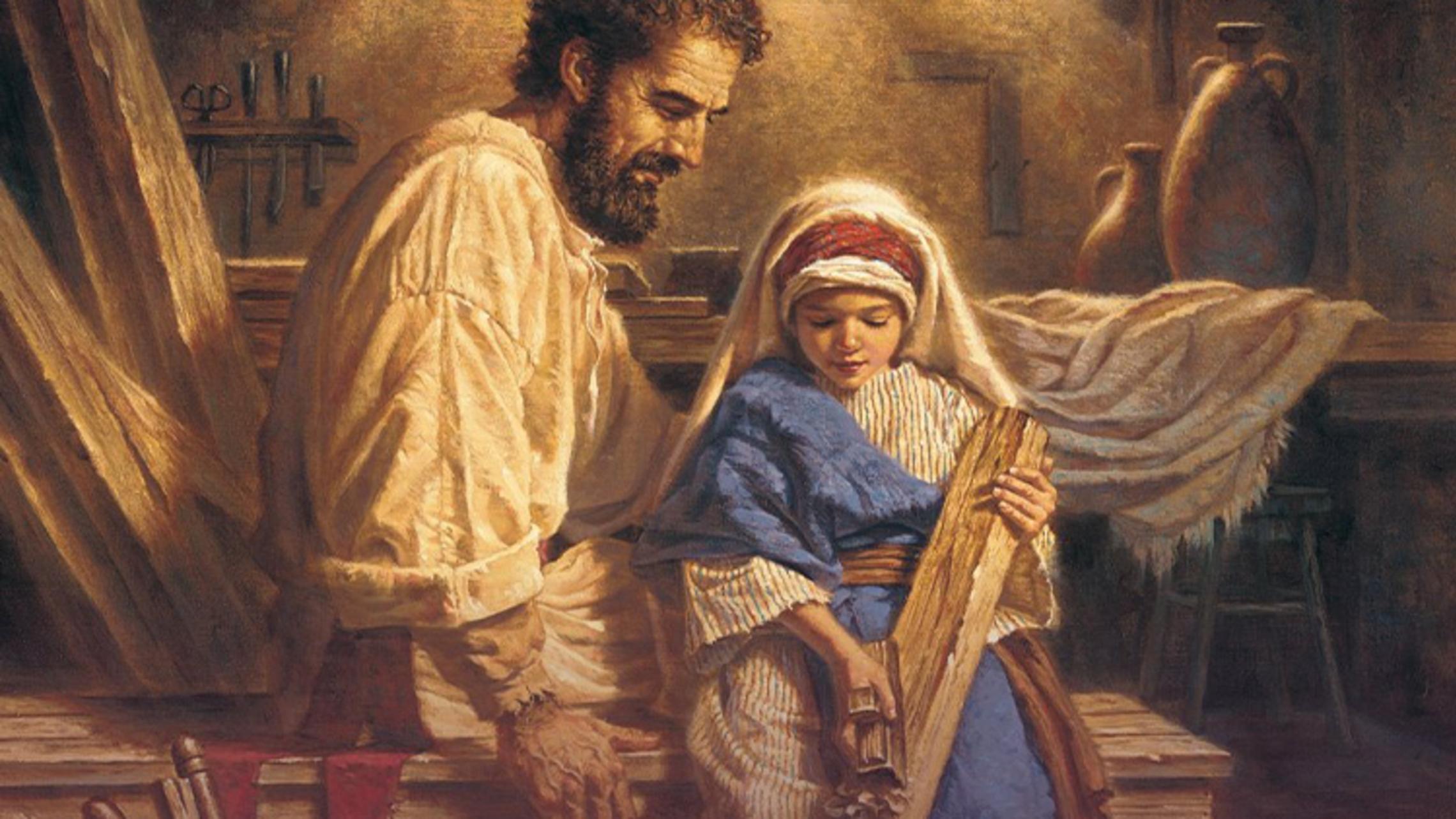 St. Joseph and Jesus