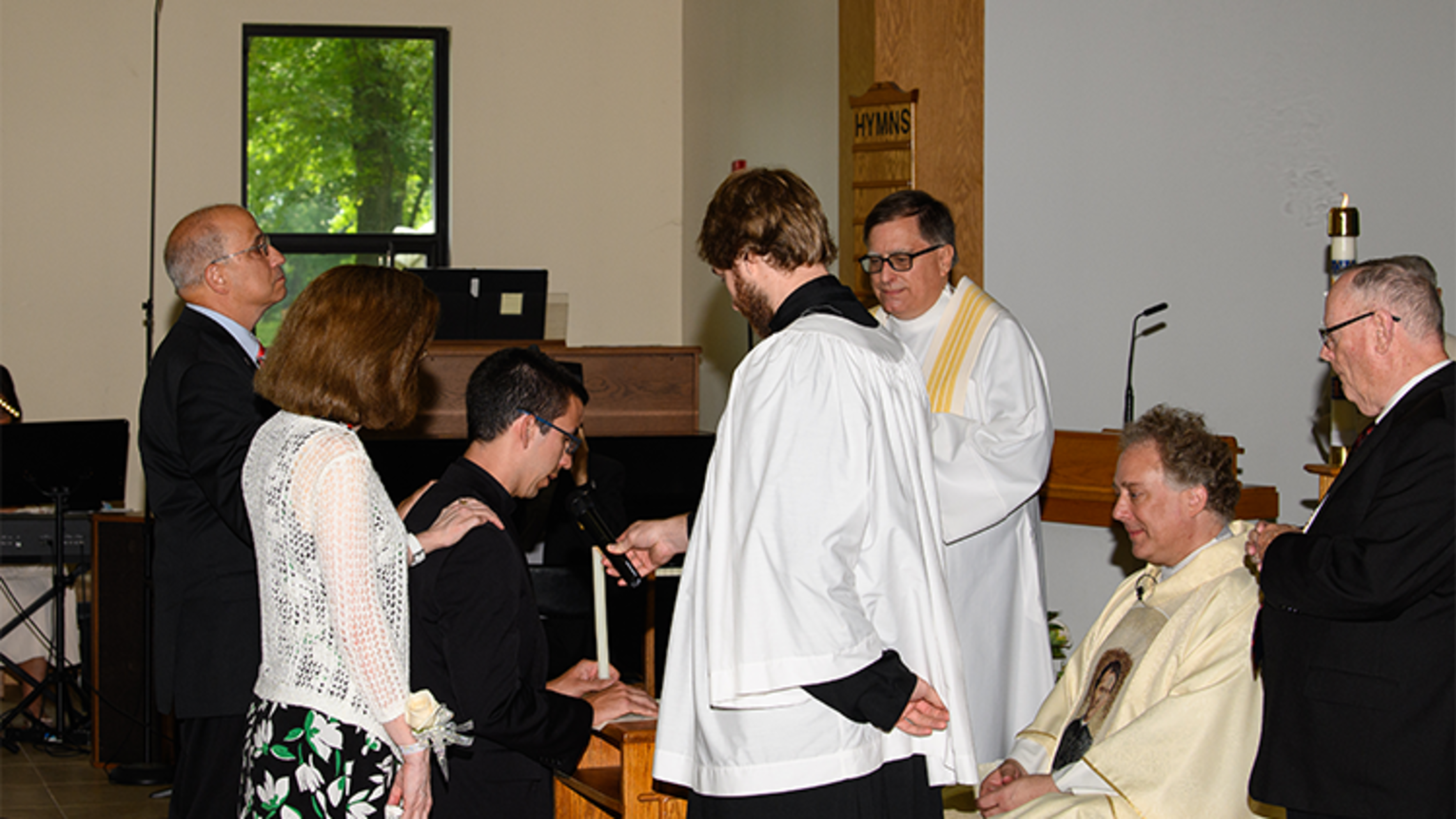 Deacon Lenny Carlino's perpetual professions in 2019